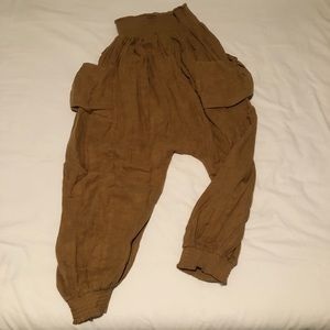 Free People MC Hammer style pants